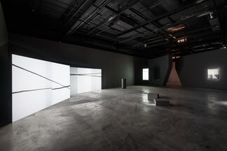 A Slant of Light Wang Yahui Solo Exhibition, installation view