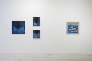 Pleiades: Seven Sisters of New Zealand Painting, installation view
