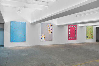 Dennis Loesch: Merge Visible, installation view