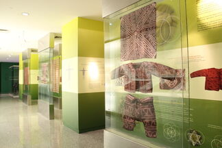 Art and the Order of Nature in Indigenous Philippine Textiles, installation view