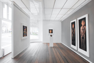 Marcus Harvey - Glass Paintings, installation view