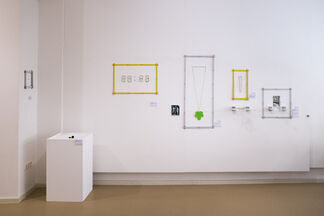 """MASS"", measurements – New Jewellery Art by Sungho Cho, Akiko Kurihara and Fumiki Taguchi, installation view"