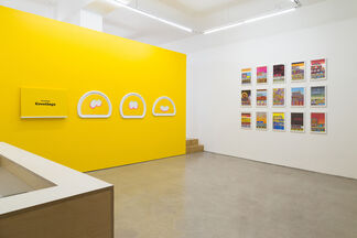 Beverly Fishman: Untitled (Monotypes), installation view