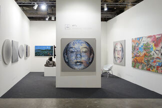 Art+ Shanghai Gallery at Art Stage Singapore 2015, installation view