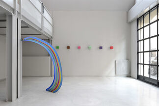 """Herbert Hamak - """"At the end of the rainbow"""", installation view"""