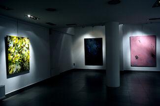 "David Benforado ""Between Sound and Silence ΙΙΙ"", installation view"