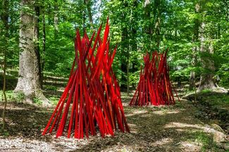 Chihuly: In the Gallery and In the Forest, installation view