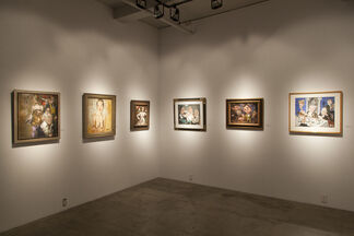 Jack Levine and Hyman Bloom: Against the Grain, installation view