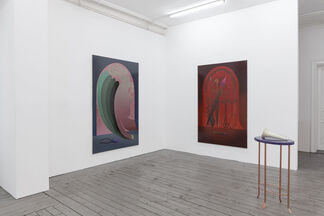 Hundred Liters of Diet Ink, installation view