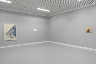 criss-crossed, installation view