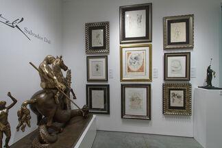 Salvador Dali: Drawings and Prints, installation view