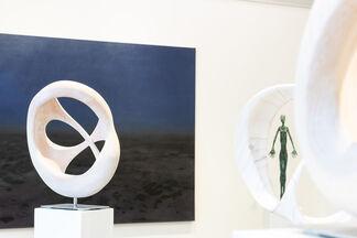 Blaue Stunde, installation view