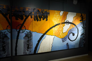 """MOVEMENT OF SPACES"" SOLO EXHIBITION OF IGOR SHIRSHKOV, installation view"