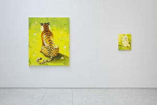 Tiger Tiger, installation view