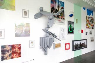 Weltraum, installation view