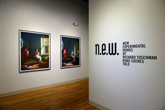 n.e.w.  New Experimental Works, installation view
