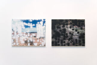 """""""Second Nature"""" - a four person show, installation view"""