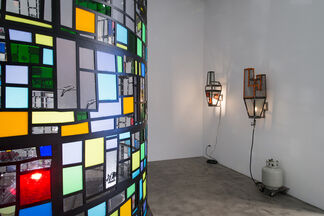 Tom Fruin: Color Study, installation view