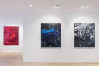 "HUBERT SCHEIBL ""RIFFS OF REAL TIME"", installation view"