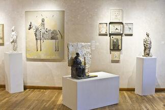 Reconstruction: Holly Roberts and Wanxin Zhang, installation view