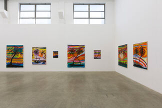 Unsolved Mistery - Josh Smith, installation view