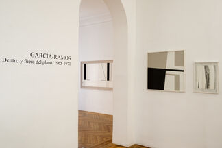 GARCÍA-RAMOS. In and out of plane. 1965-1971, installation view
