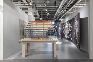carlier   gebauer at Art Basel 2017, installation view