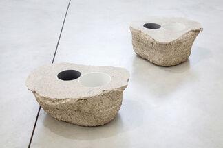 "Asier Mendizabal, ""Kopf, Faust, Baum"", installation view"