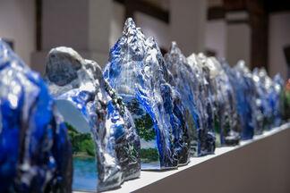 Hidden Sceneries - Floating Memories, installation view