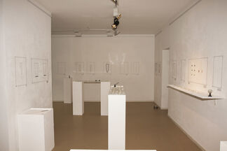 The cat did it., installation view