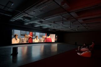 Practicing......A Live Simulation - Documents of Yu Cheng-Ta's Practicing LIVE project, installation view