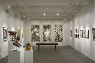 Immortal Menagerie, installation view
