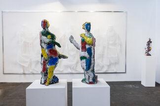 Suzanne Tarasieve at Art Brussels 2017, installation view