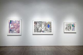 Roy Lichtenstein, installation view