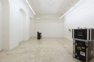 Linus Riepler - Left Behind, installation view