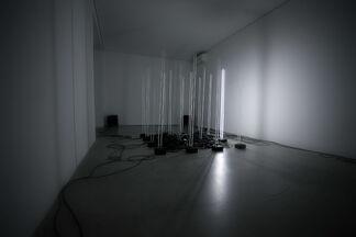 Fernando Velazquez: #L1, after Dan Flavin, installation view