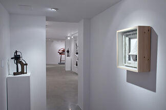 John Udvardy: Iron and Wood 2012-2013, installation view