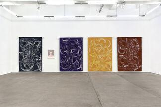 Elijah Burgher - Bachelors, installation view