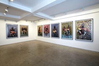 Leonce Raphael Agbodjelou, Citizens of Porto-Novo, installation view