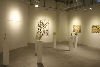 Solo exhibition : Conservation of vitality by Lai Dieu Ha, installation view