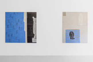 Peter Griffin: I am only the head of those that go before me, installation view