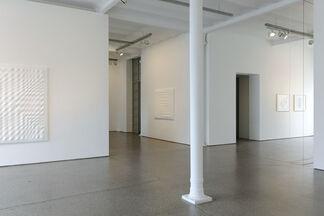 Enrico Castellani, installation view