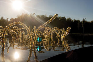 The  Opening of the Water Theatre Grove, installation view