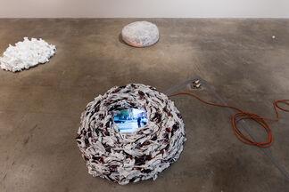 Descent, installation view