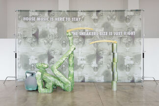 Guan Xiao: Flattened Metal in association with K11 Art Foundation, installation view