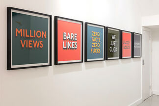 Hang-Up Editions, installation view