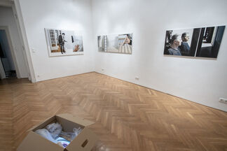 Eyes Closed, installation view