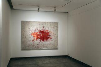 Barren Red, installation view