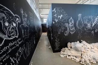 The Future Was Written, installation view