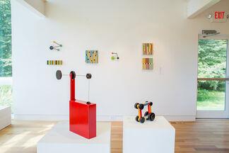 Richard Whitten and Emi Ozawa, installation view